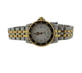 Tag Heuer Professional Two Tone Lady's Watch Wd1422