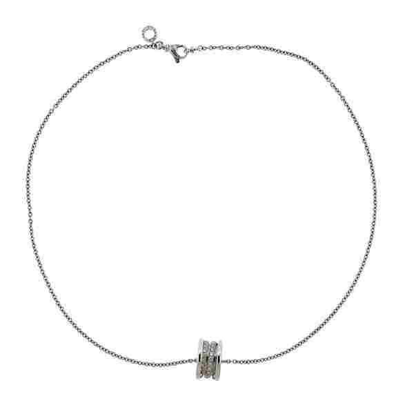 Bvlgari Bulgari B.Zero1 18k Gold Diamond Necklace