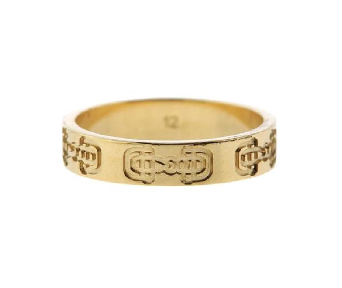 Gucci 18K Gold Band Ring
