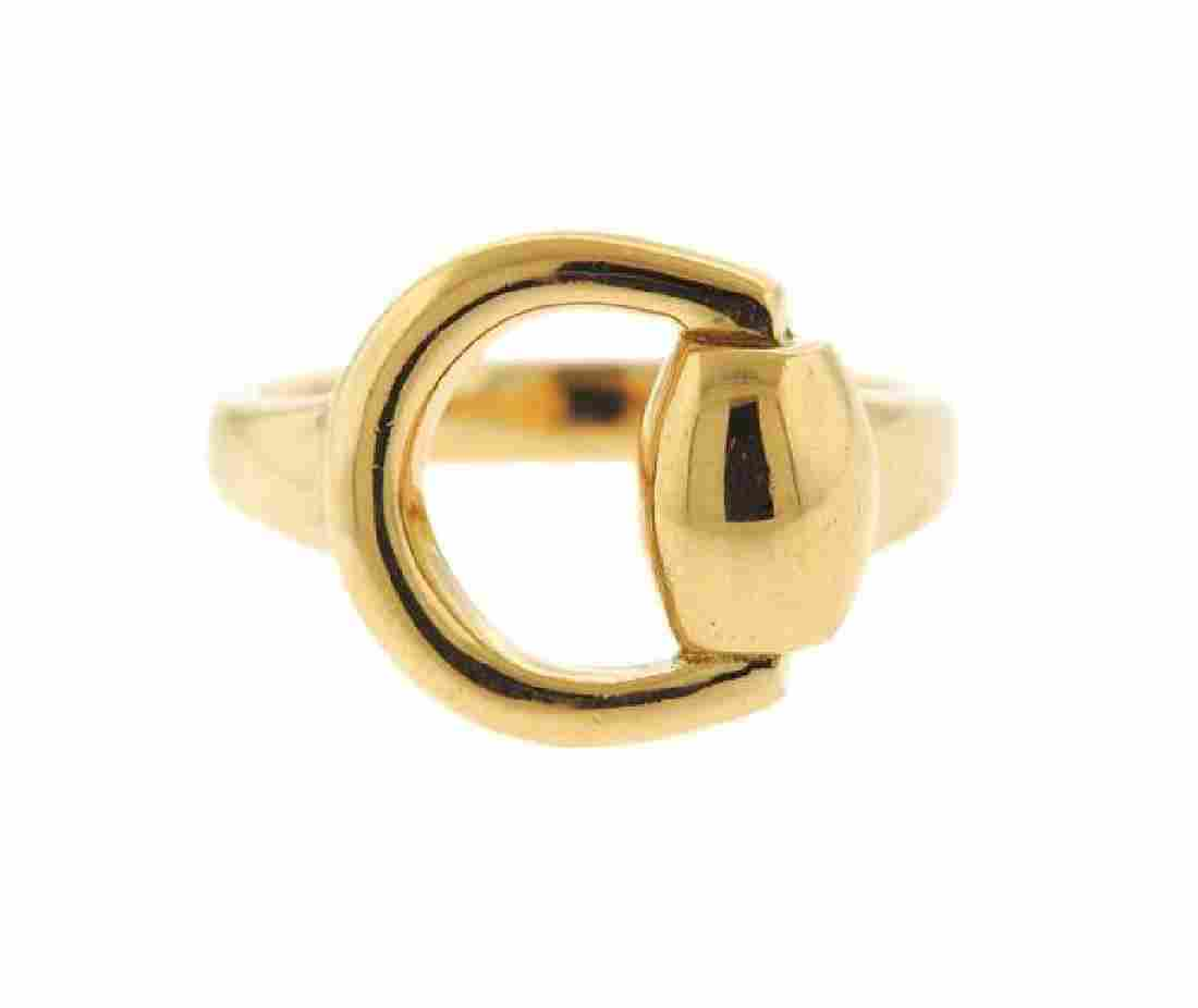Gucci 18K Gold Ring
