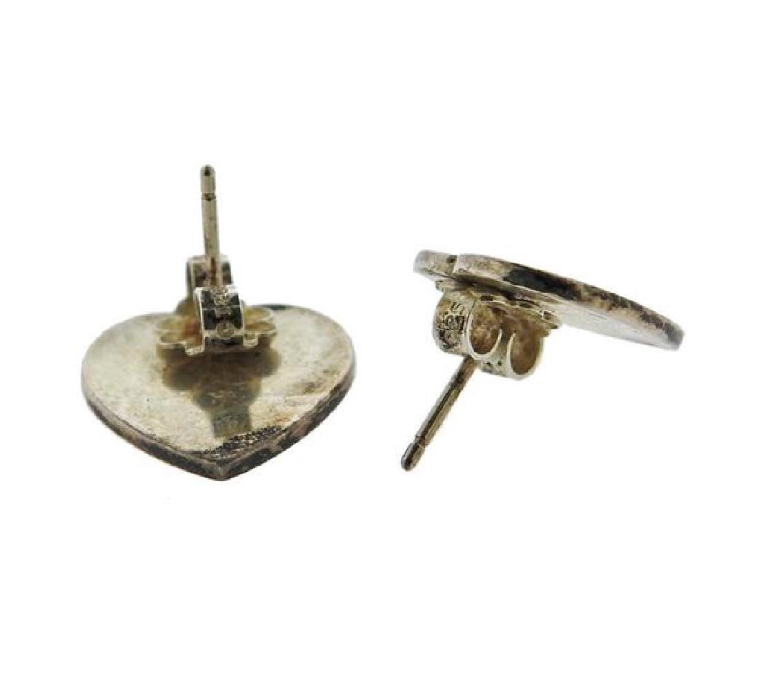 Tiffany & Co Sterling 1837 Ring Heart Earrings Lot - 3