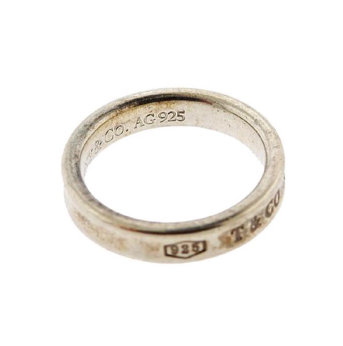 Tiffany & Co Sterling 1837 Ring Heart Earrings Lot - 4