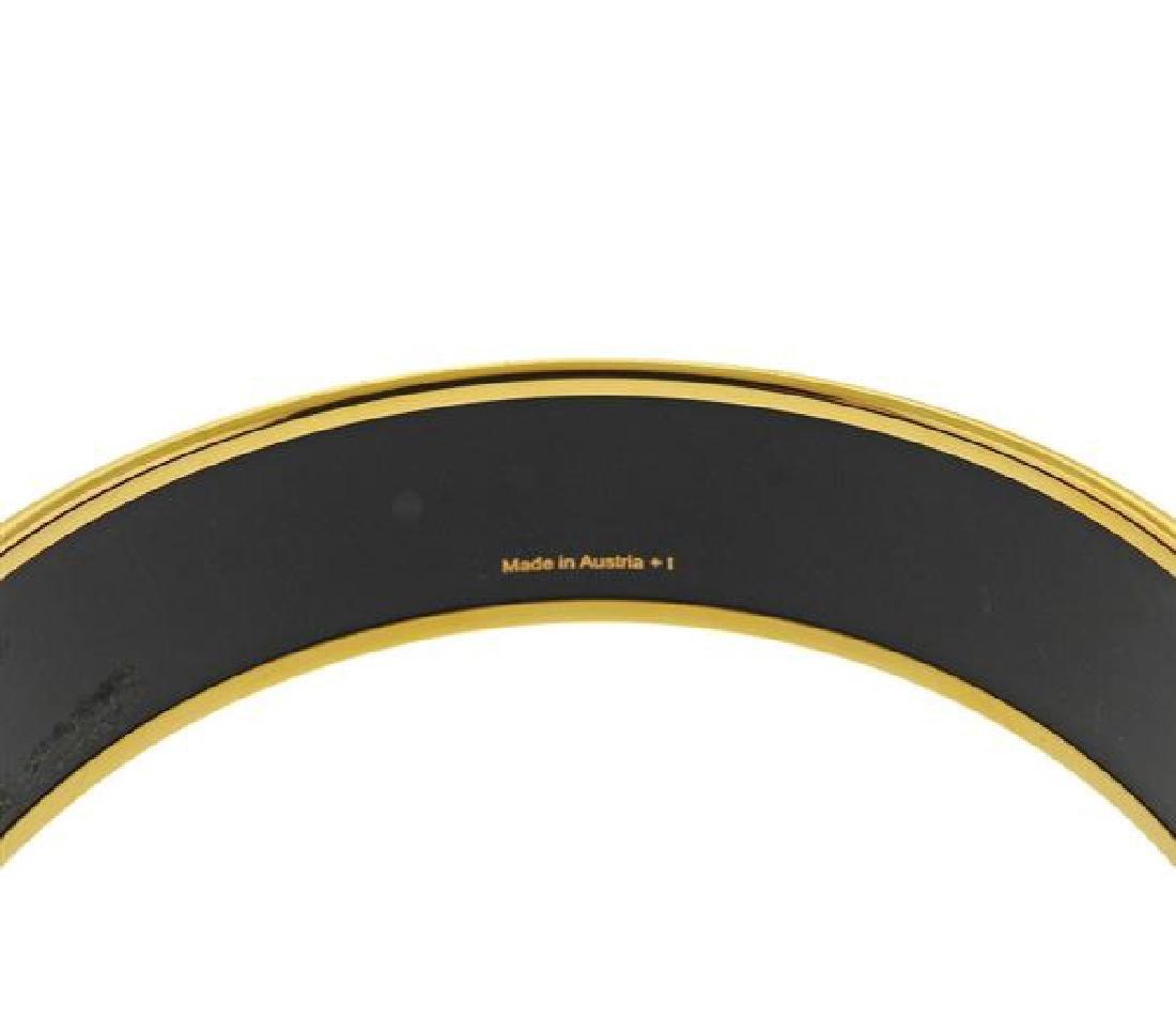 Hermes Enamel Bangle Bracelet Set - 4