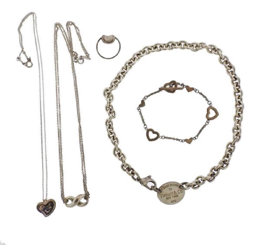 Tiffany & Co Sterling Silver Jewelry Lot