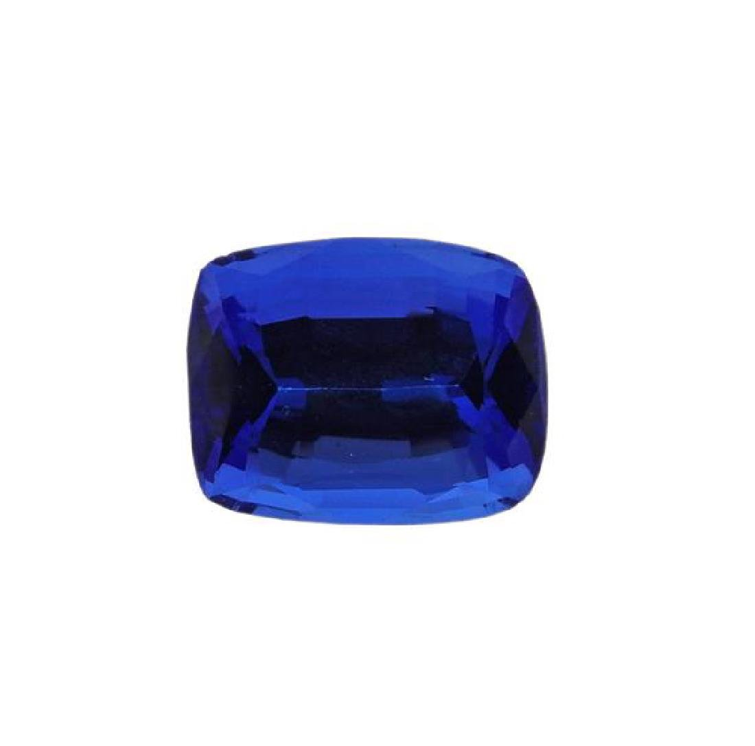 18k Gold Diamond 6.75ct Tanzanite Ring - 2