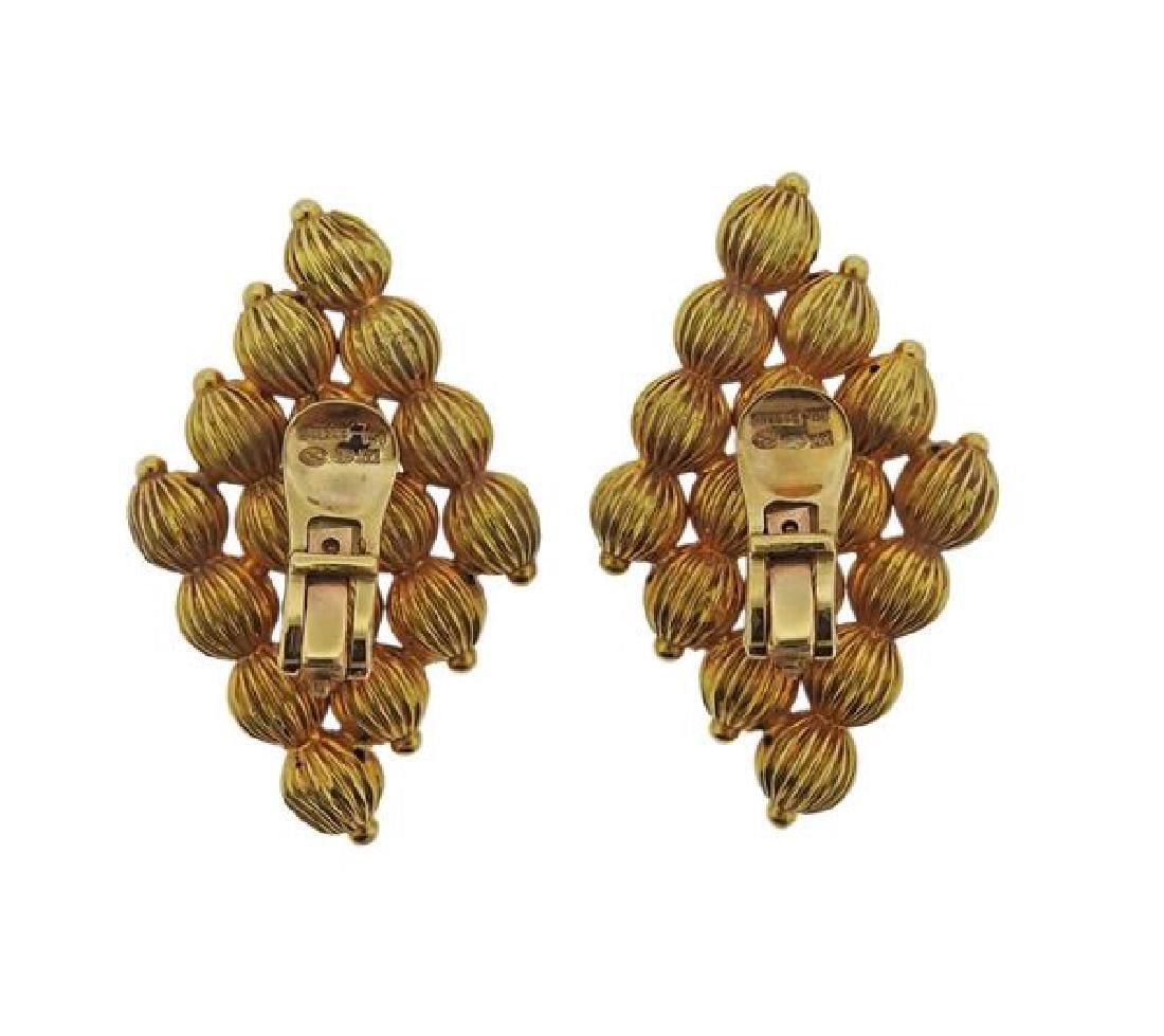 Lalaounis Greece 18k Gold Earrings - 3