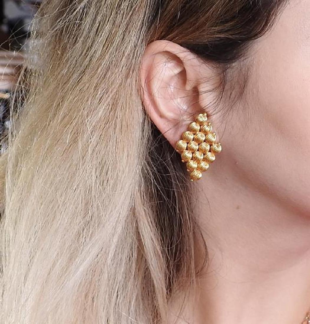Lalaounis Greece 18k Gold Earrings - 5