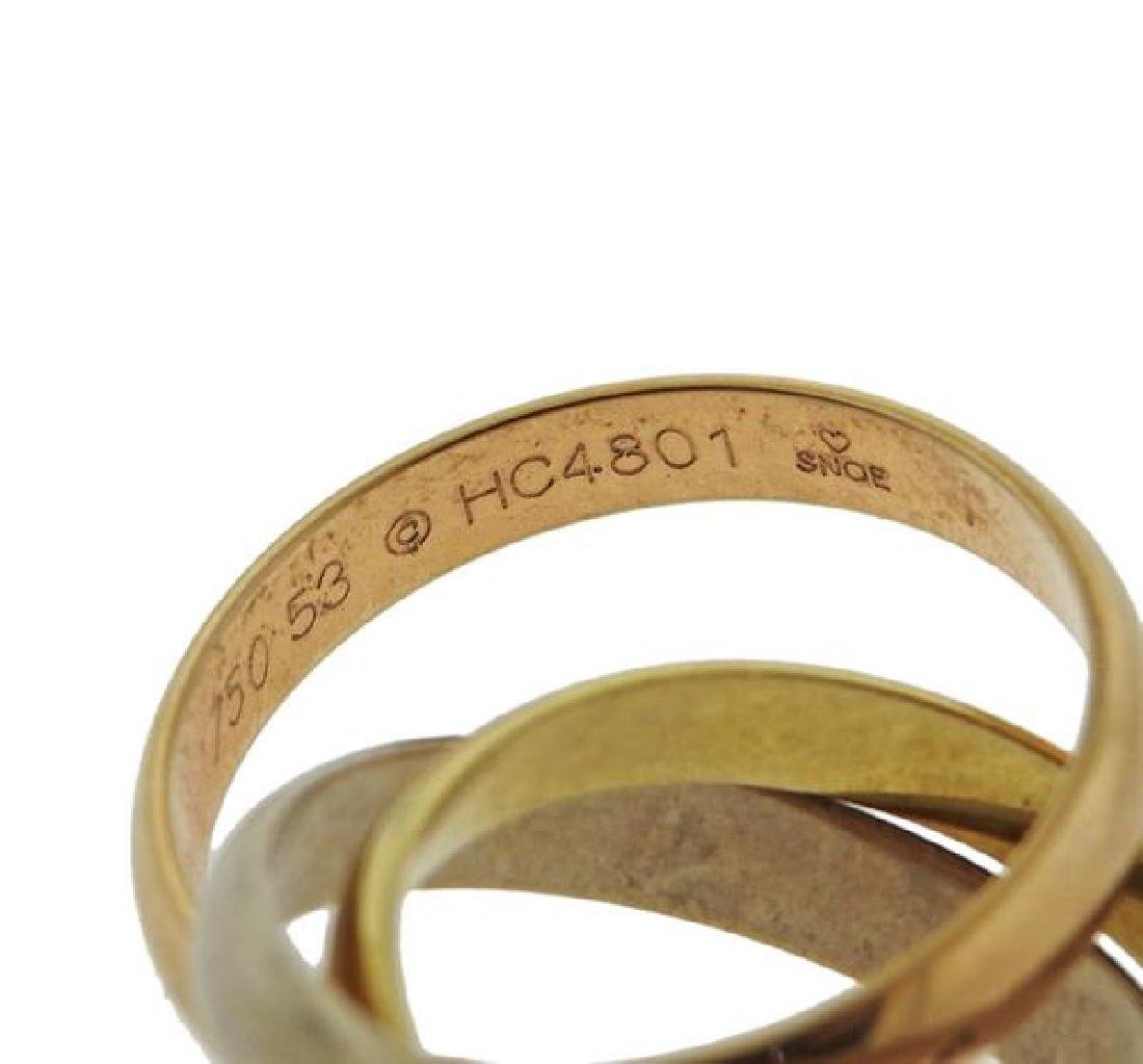 Cartier Trinity 18k Gold Rolling Band Ring - 3