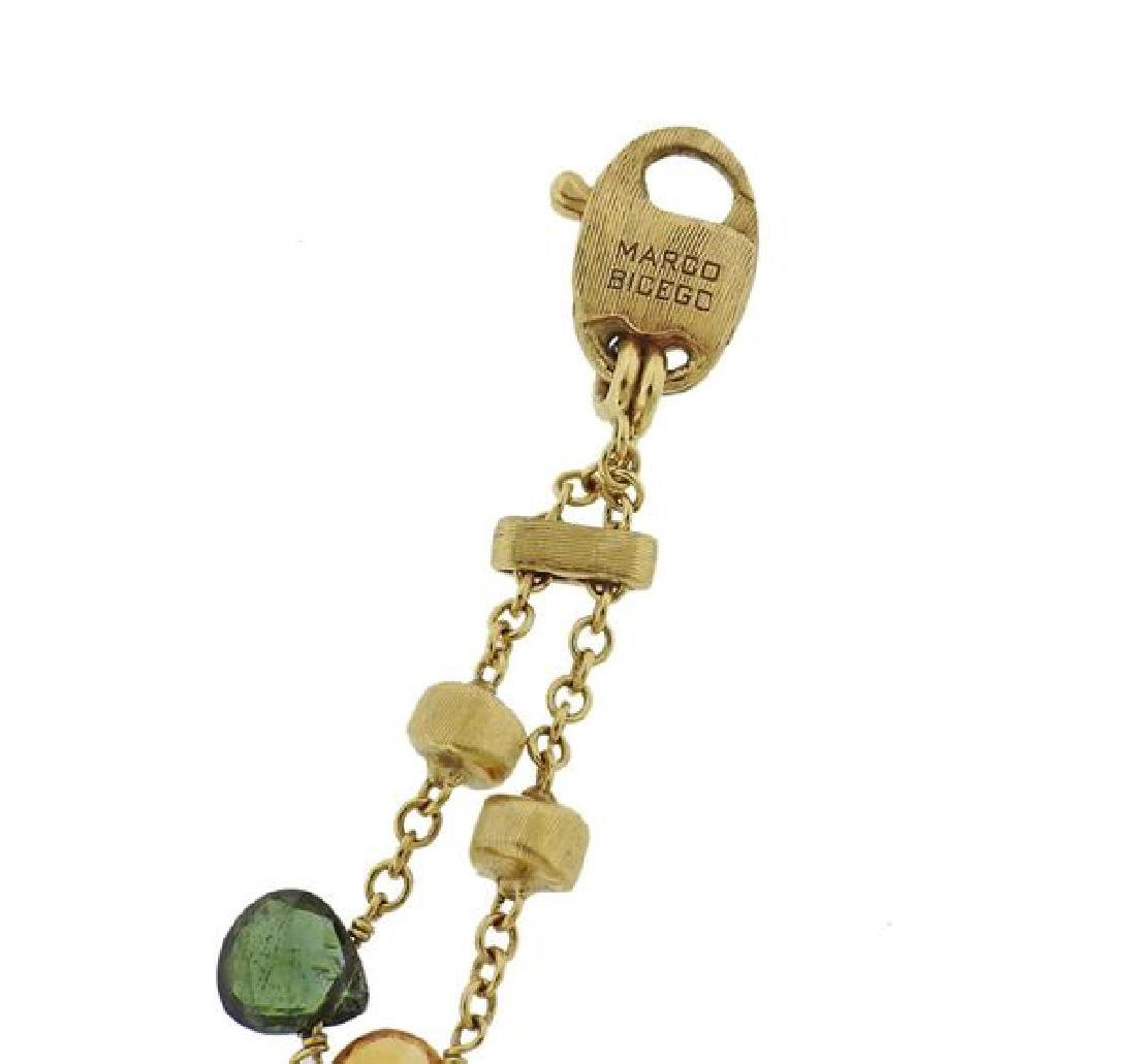Marco Bicego Paradise 18k Gold Gemstone Pearl Bracelet - 4