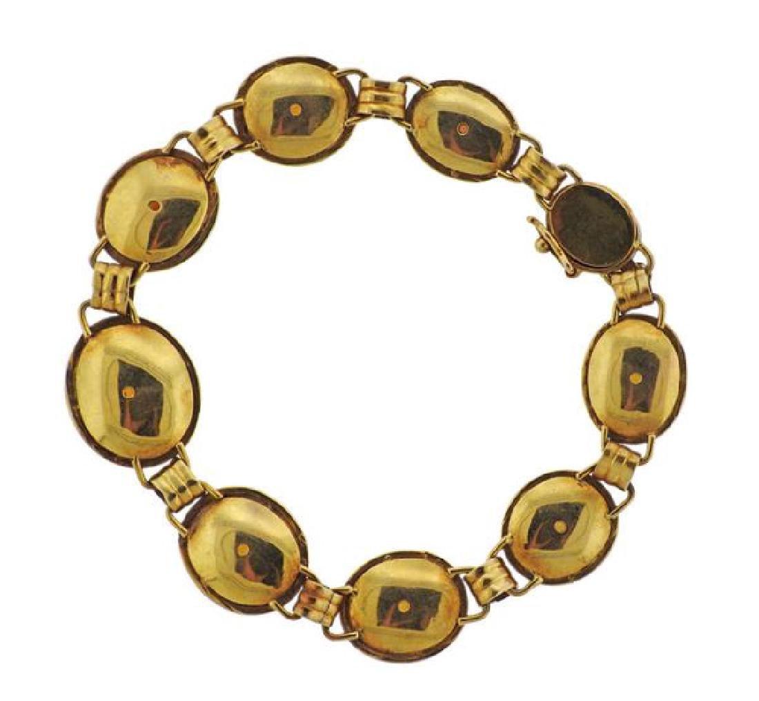 14k Gold Opal Bracelet - 3