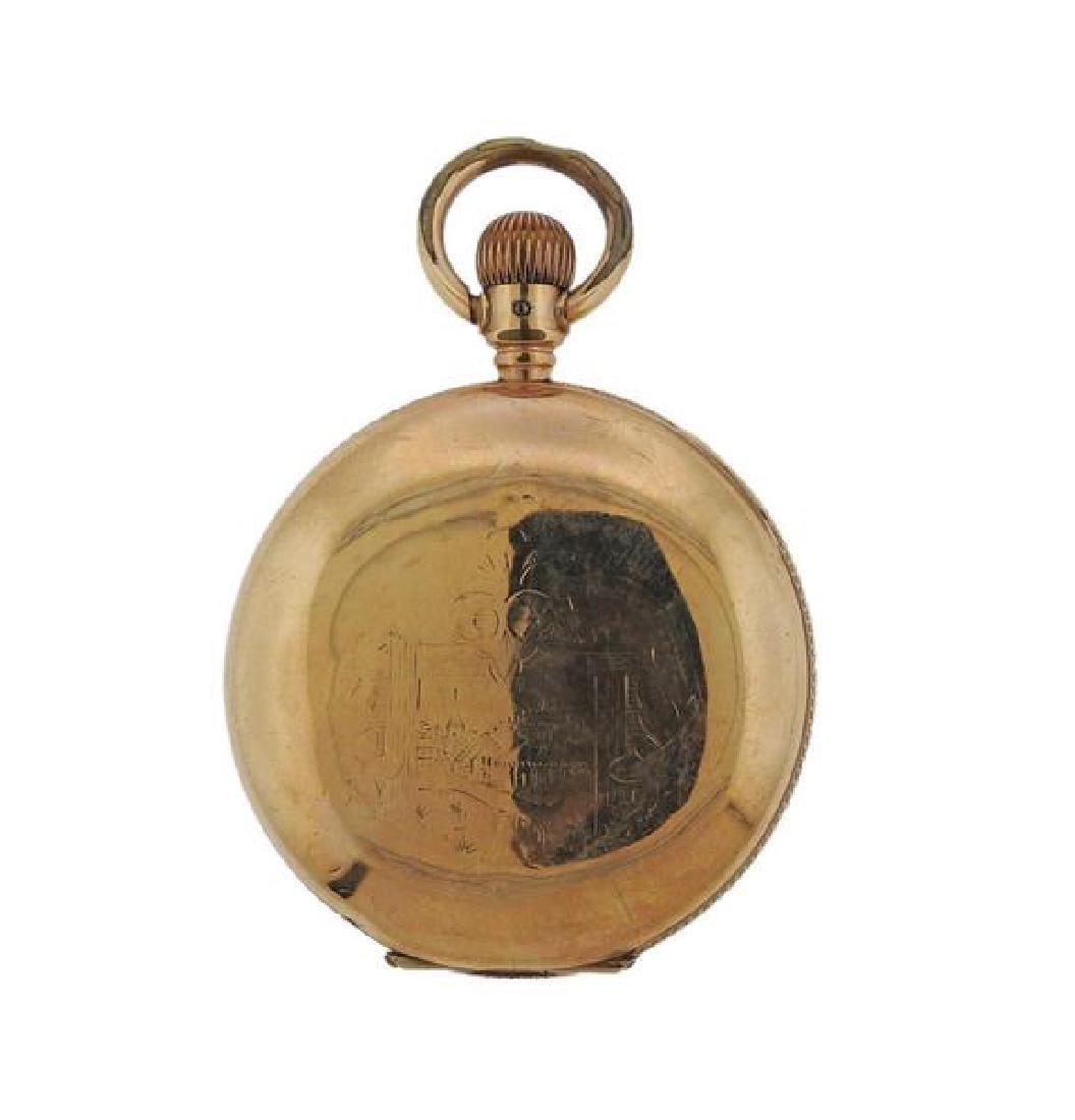 Elgin Gold Filled Pocket Watch - 3
