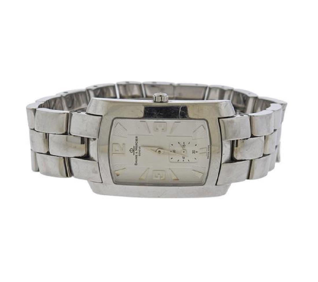 Baume & Mercier Hampton Steel Watch