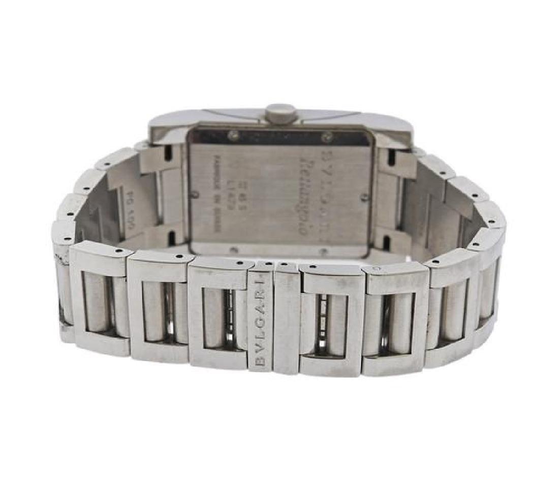 Bvlgari Bulgari Rettangolo Steel Watch RT45S - 2