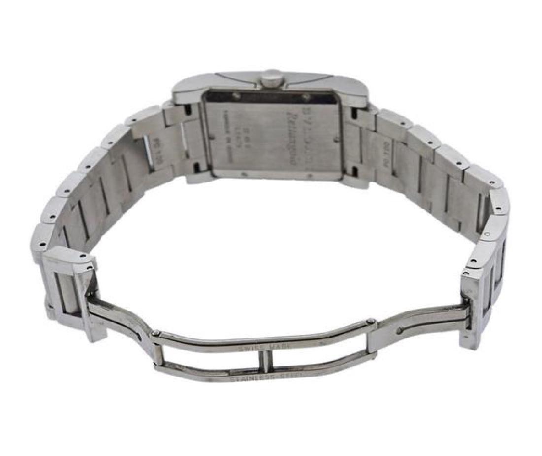 Bvlgari Bulgari Rettangolo Steel Watch RT45S - 4