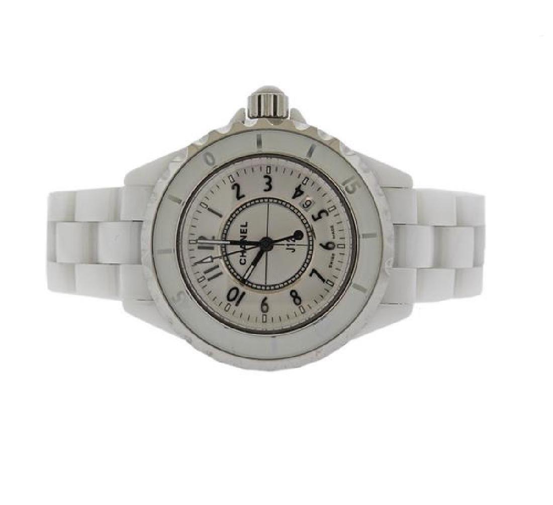 Chanel J12 White Ceramic Quartz Watch DN23788