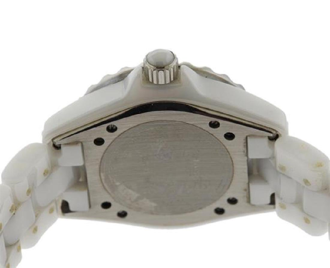 Chanel J12 White Ceramic Quartz Watch DN23788 - 3