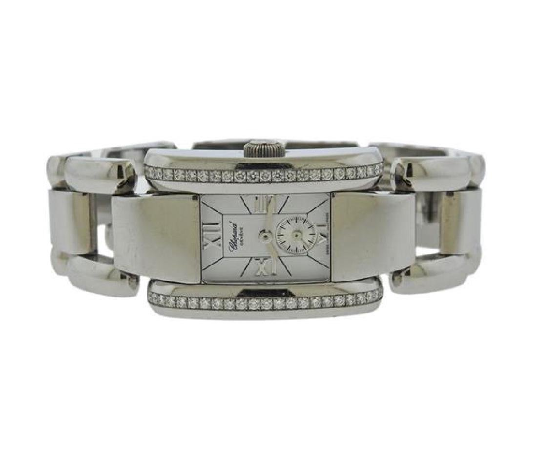 Chopard La Strada Steel Diamond Lady's Watch