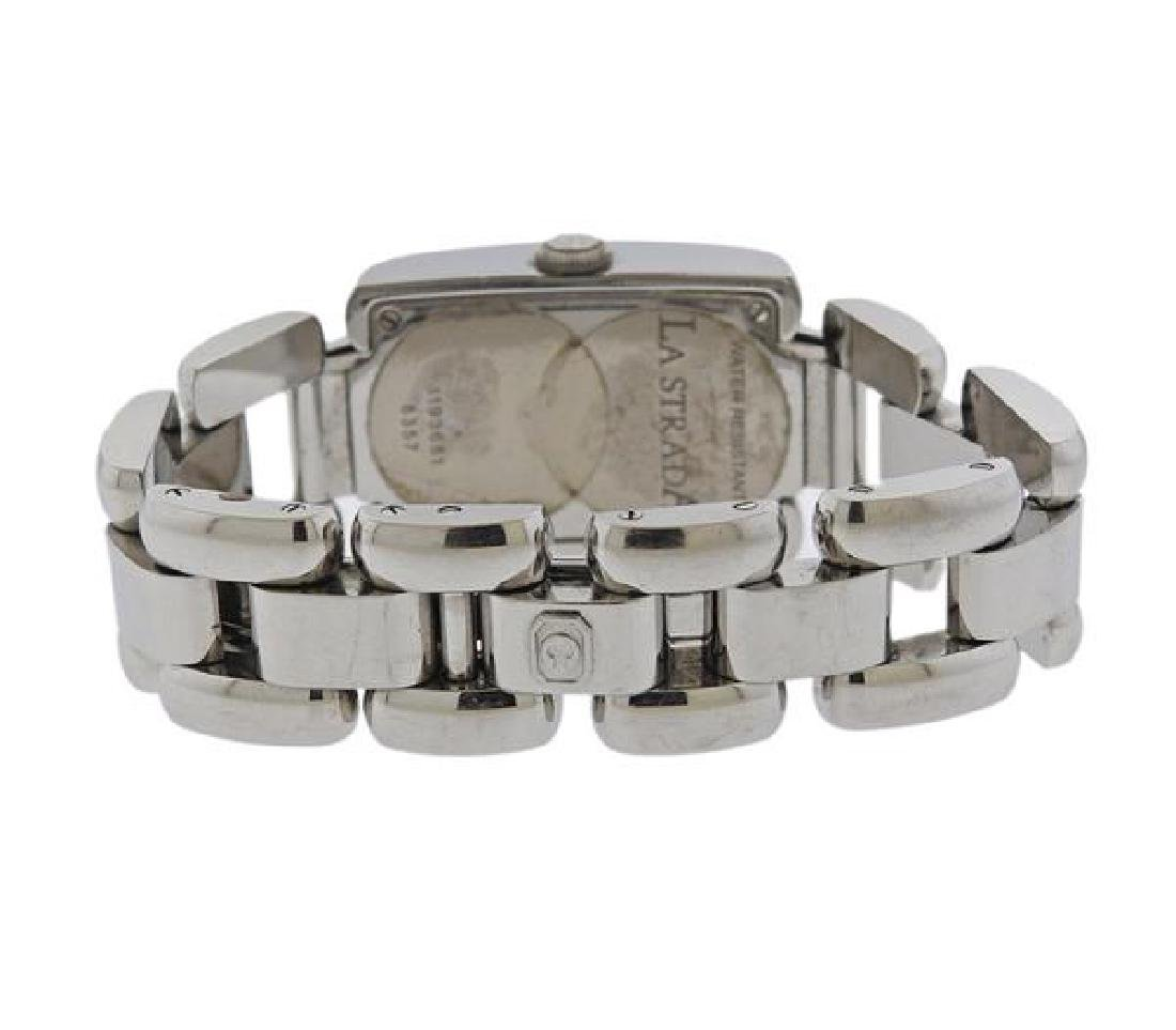 Chopard La Strada Steel Diamond Lady's Watch - 2