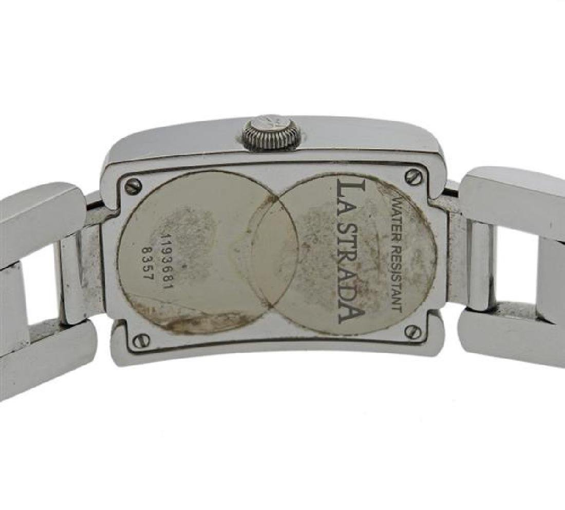 Chopard La Strada Steel Diamond Lady's Watch - 3