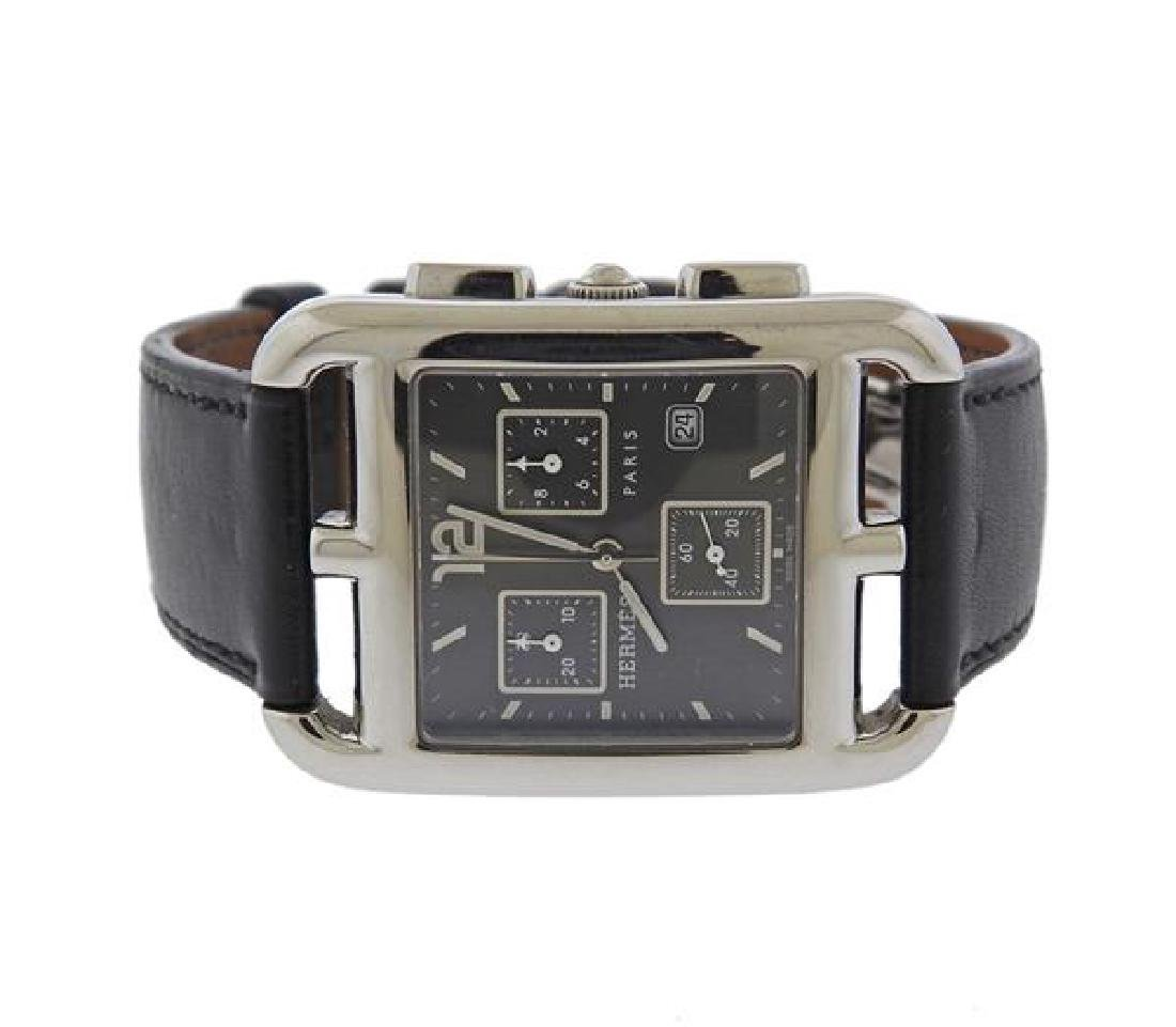Hermes Cape Cod Steel Watch CC1.910