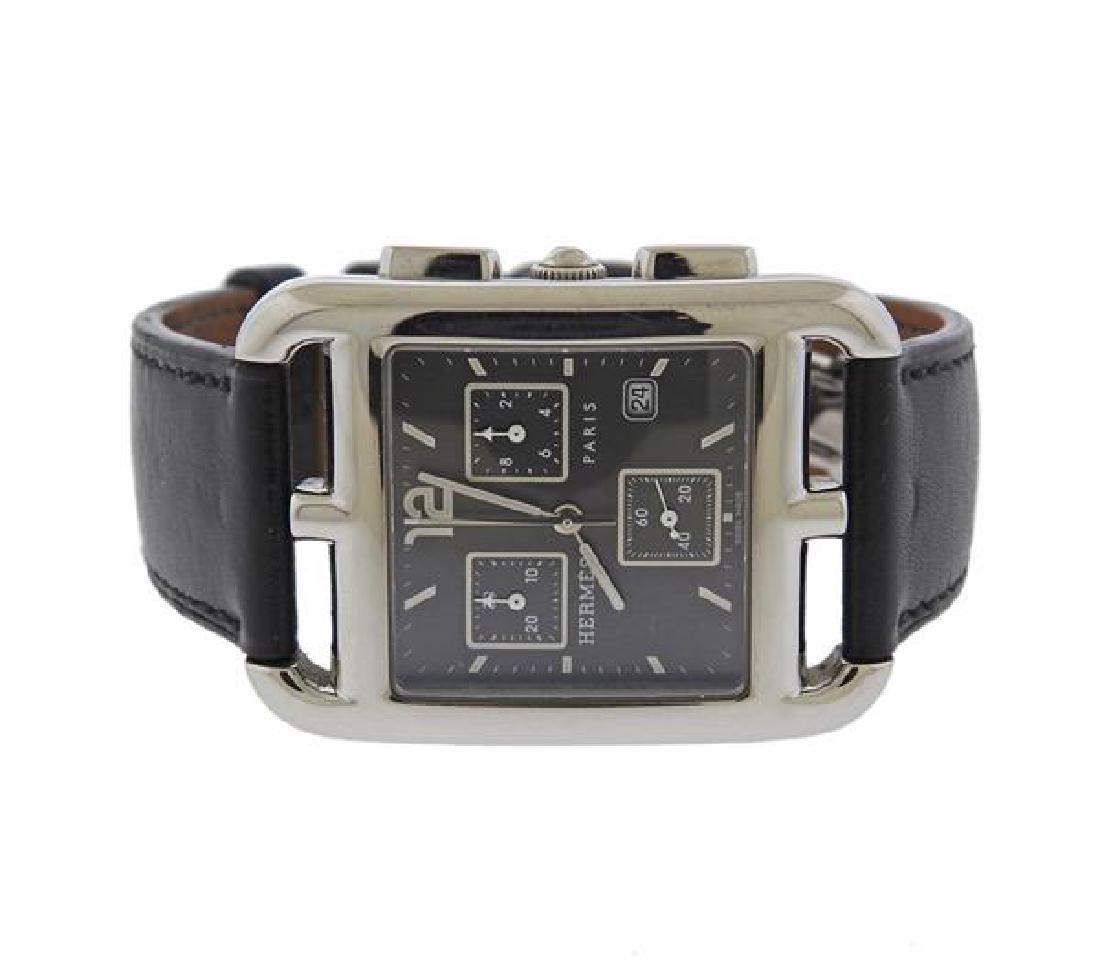 Hermes Cape Cod Steel Watch CC1.910