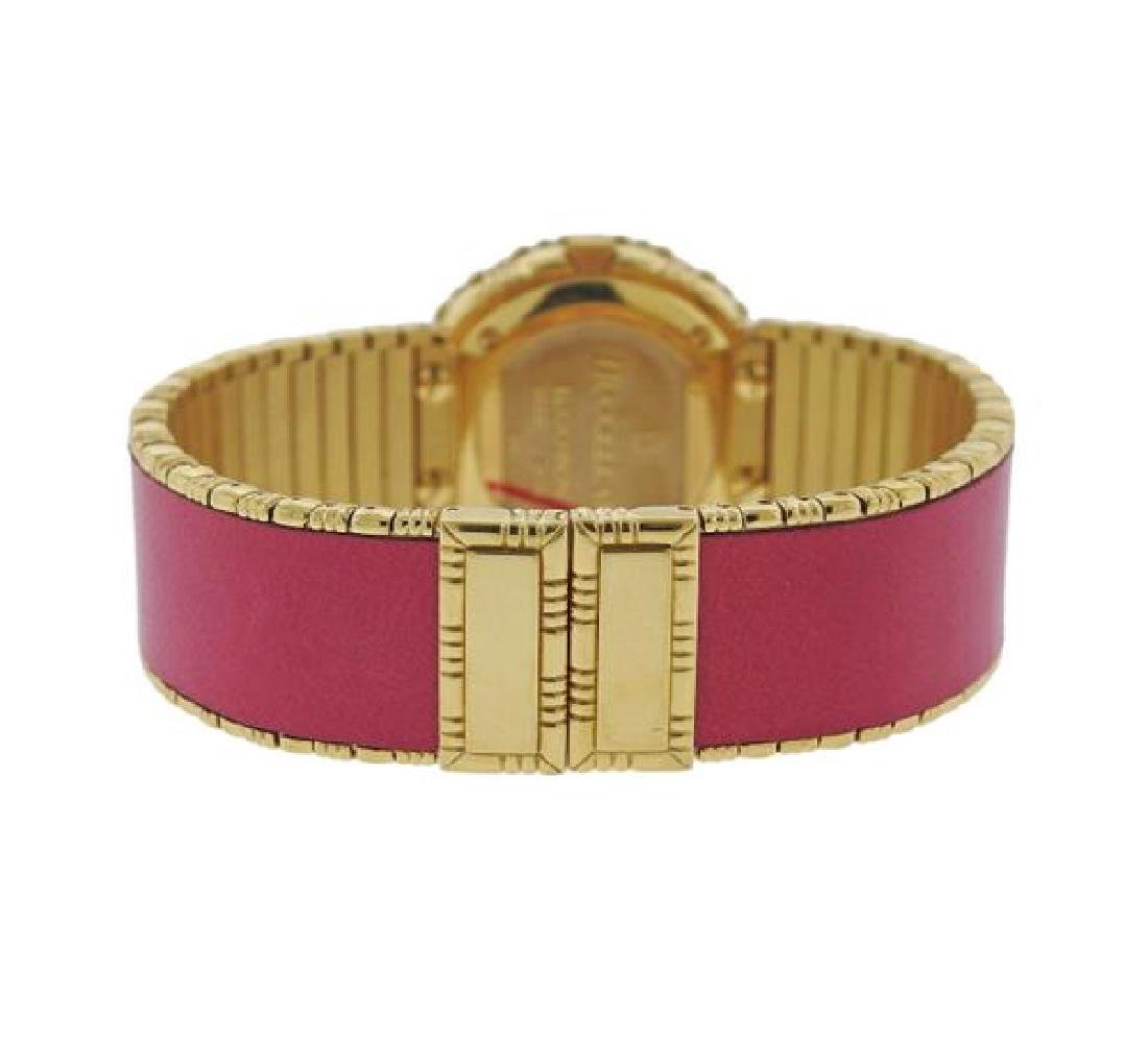 Buccellati Eliochron 18k Gold Pink Lady's Watch - 2