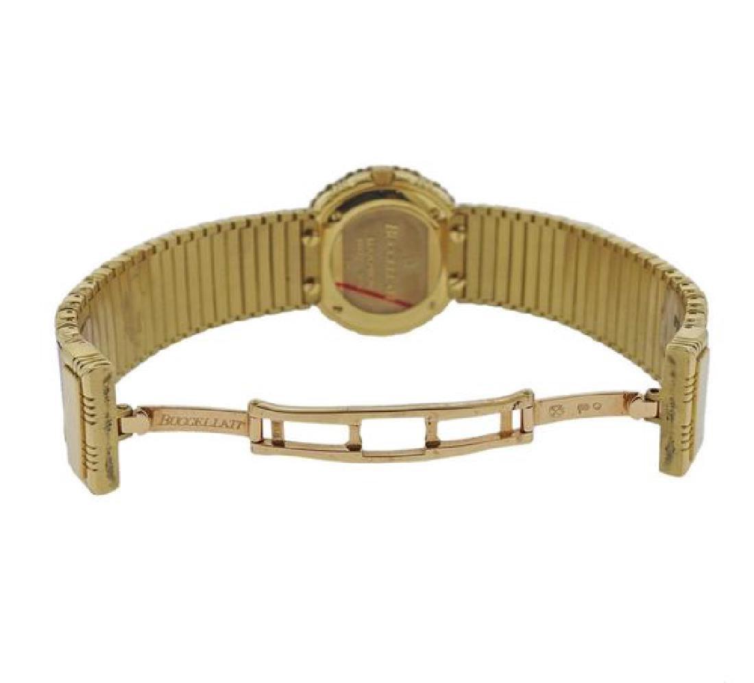 Buccellati Eliochron 18k Gold Pink Lady's Watch - 4