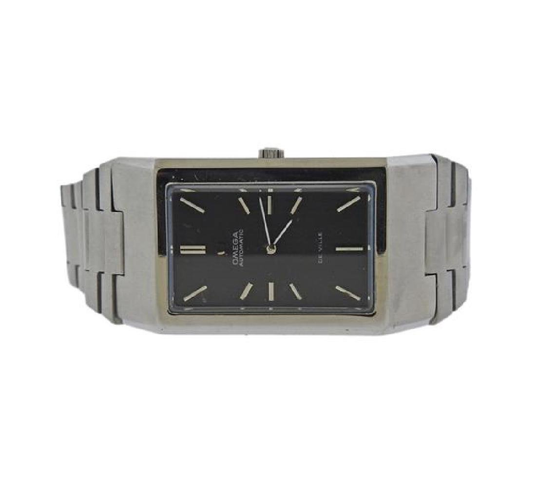 Rare Omega De Ville Stainless Steel Automatic Watch