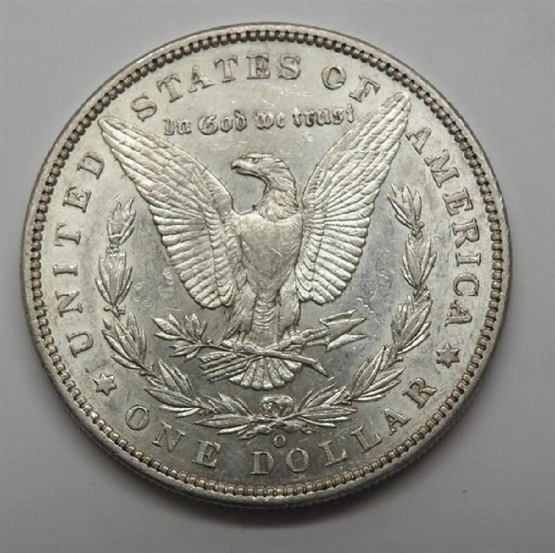1896 O Morgan 1 Dollar Silver US Coin - 2