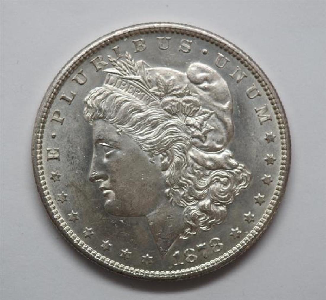 1878 S Morgan 1 Dollar Silver US Coin