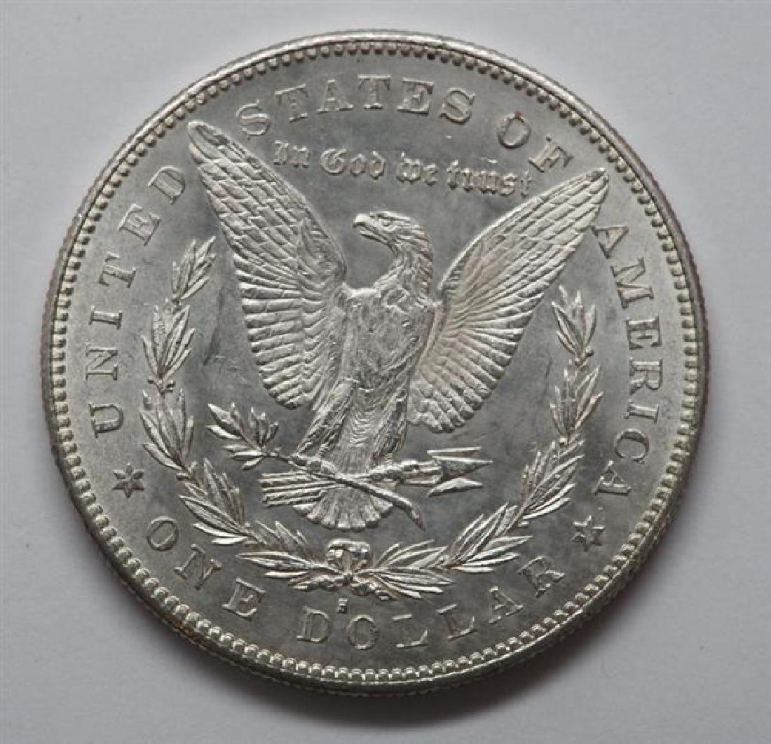 1878 S Morgan 1 Dollar Silver US Coin - 2