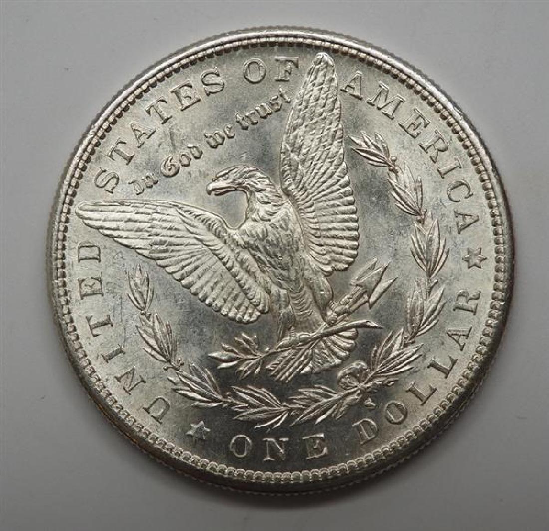 1881 S Morgan 1 Dollar Silver US Coin - 2