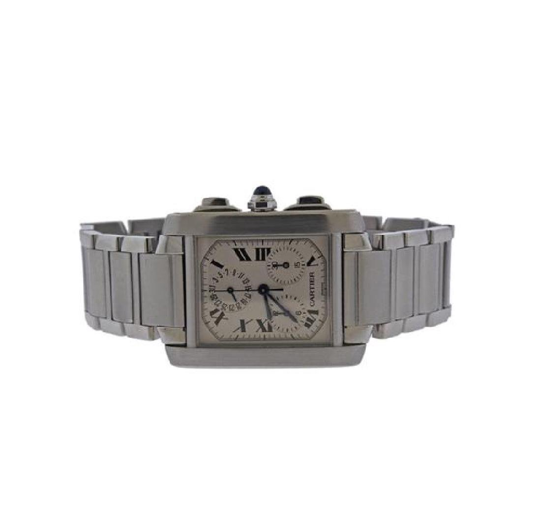 Cartier Tank Francaise Chrono Steel Watch