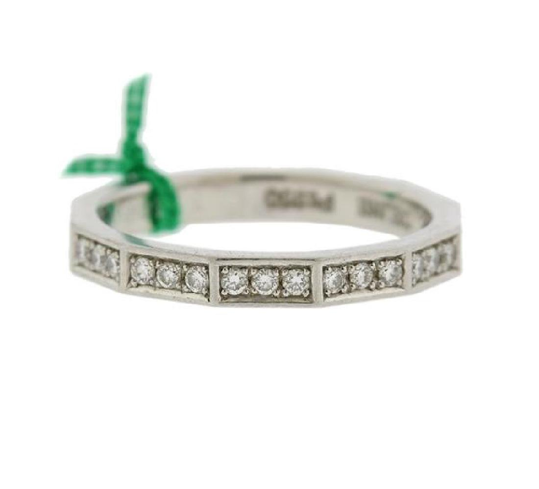 Celine Platinum Diamond Wedding Band Ring