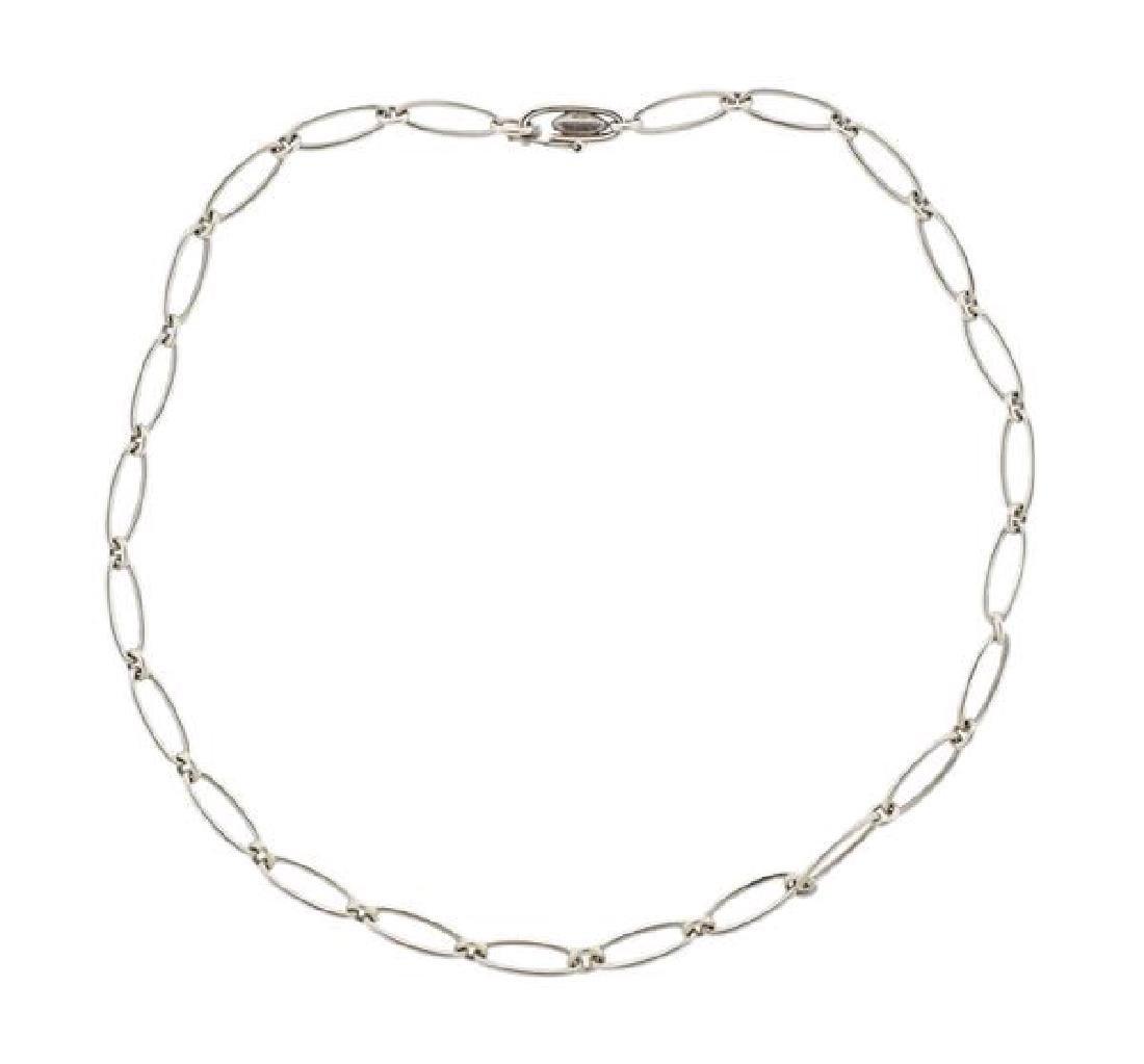 Tiffany & Co Elsa Peretti  Sterling Silver Link