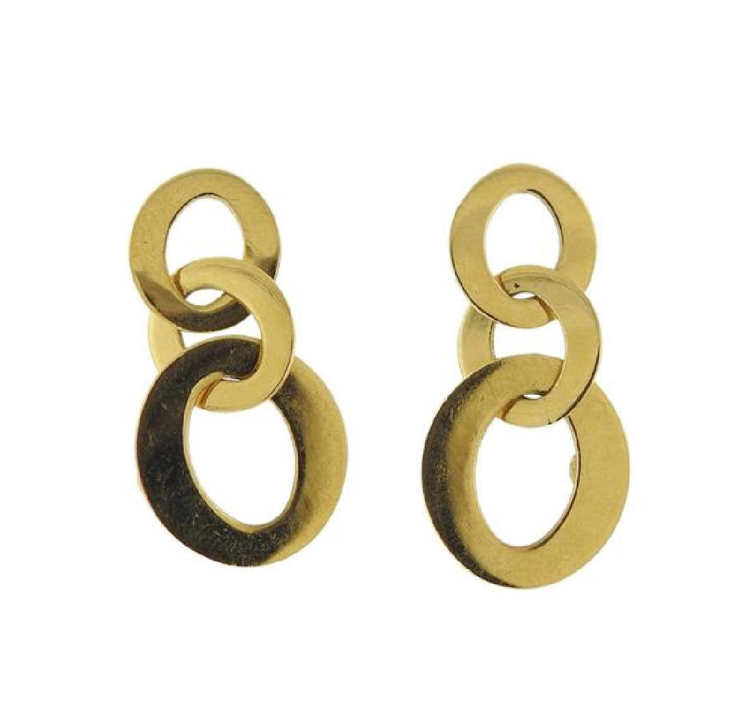Roberto Coin 18K Gold Link Earrings