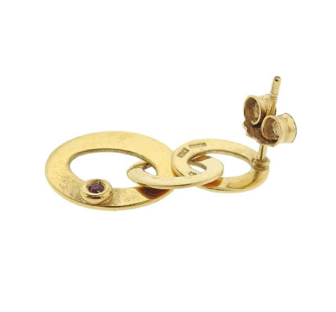 Roberto Coin 18K Gold Link Earrings - 3