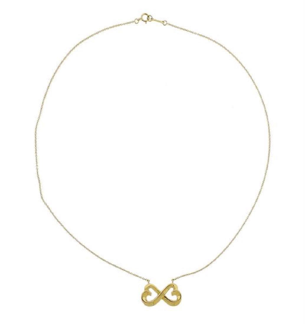 Tiffany & Co Paloma Picasso 18K Gold Necklace