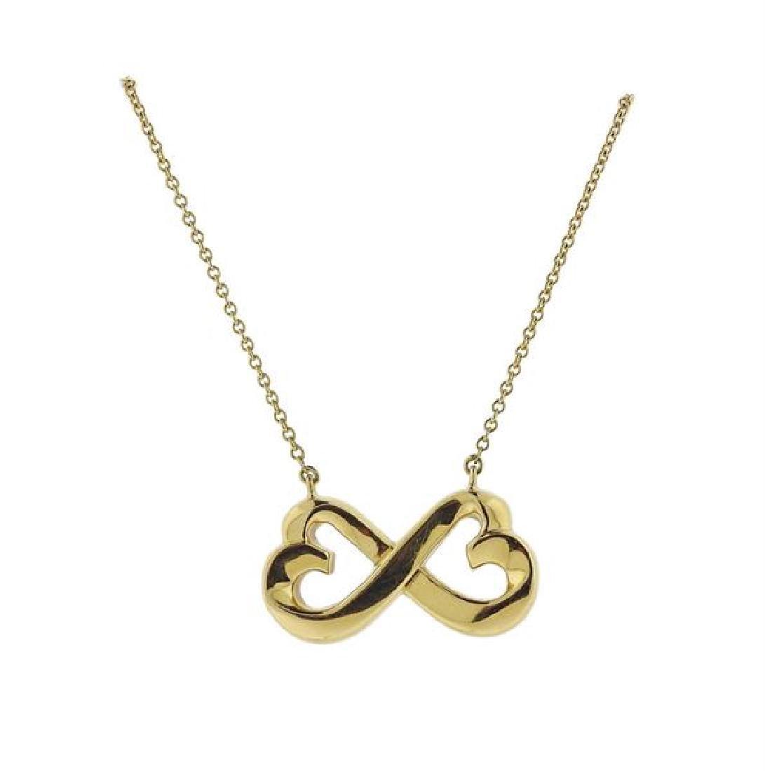 Tiffany & Co Paloma Picasso 18K Gold Necklace - 2