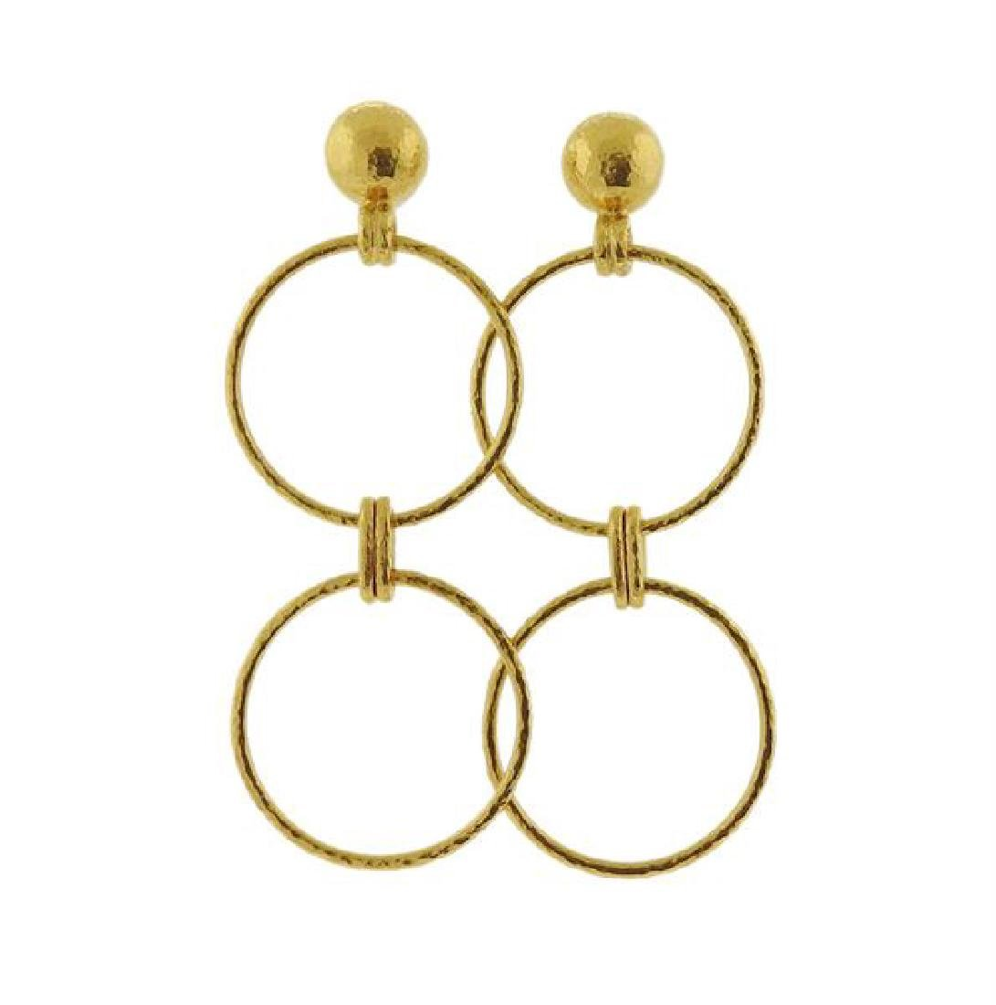 Gurhan 24K Gold Earrings