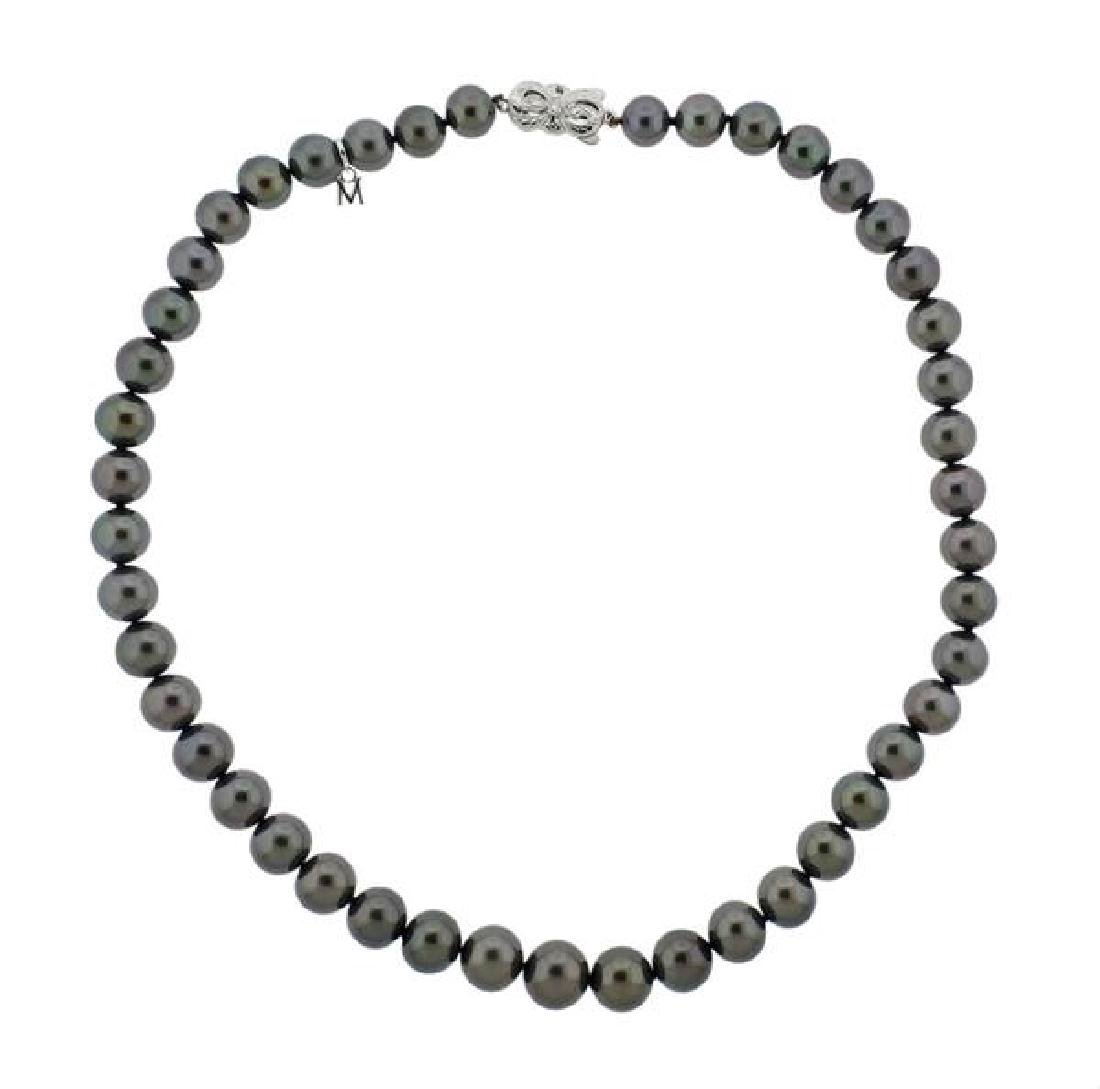 Mikimoto Ginza Special Edition Pearl 18k Gold Necklace