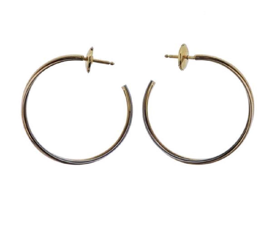 Cartier Trinity 18K Gold Trinity Hoop Earrings - 2