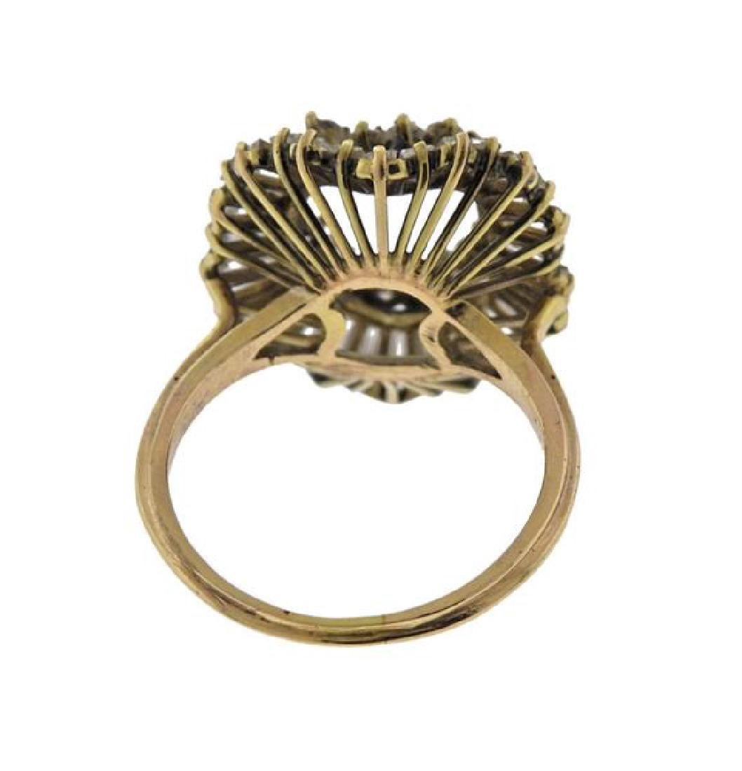 14k Gold Diamond Ring Setting - 3
