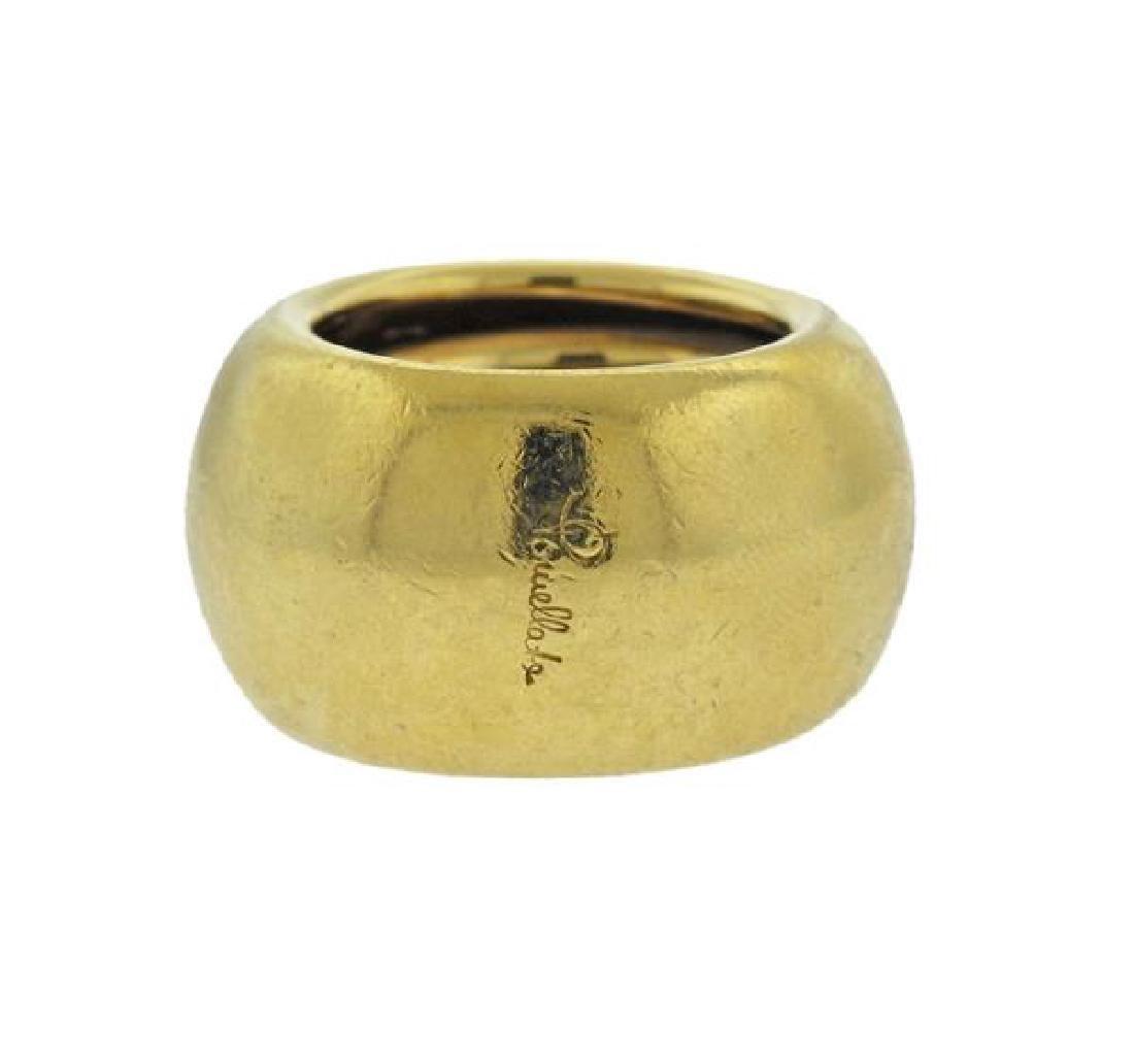 Pomellato 18K Gold Dome Band Ring