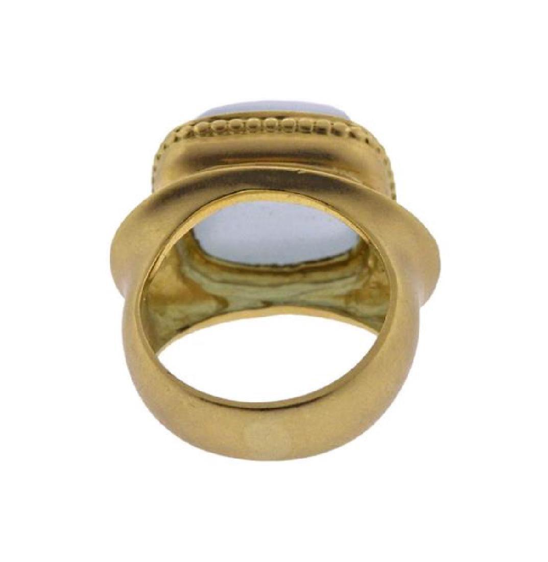 Seidengang 18K Gold Athena Aquamarine Diamond Ring - 3
