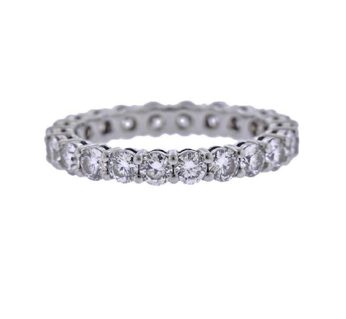 Tiffany & Co. Platinum Diamond Eternity Wedding