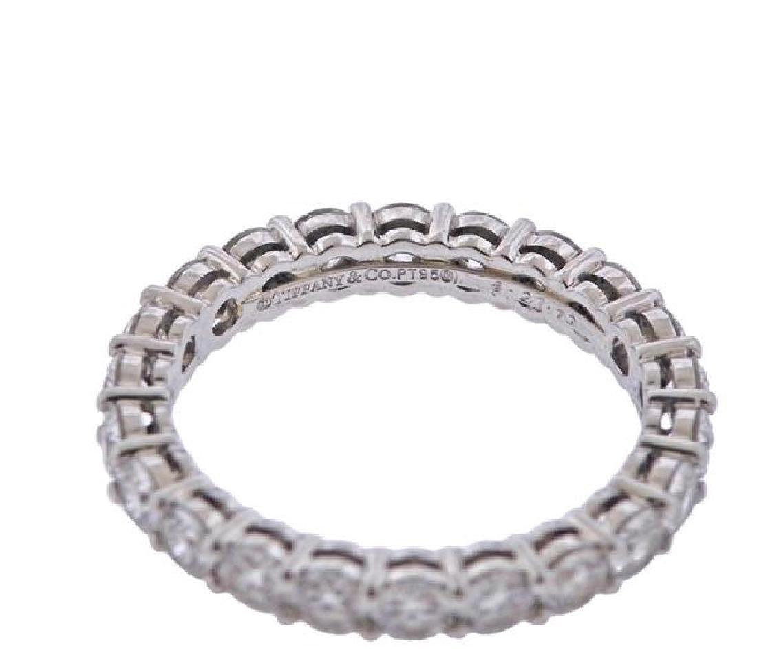 Tiffany & Co. Platinum Diamond Eternity Wedding - 2