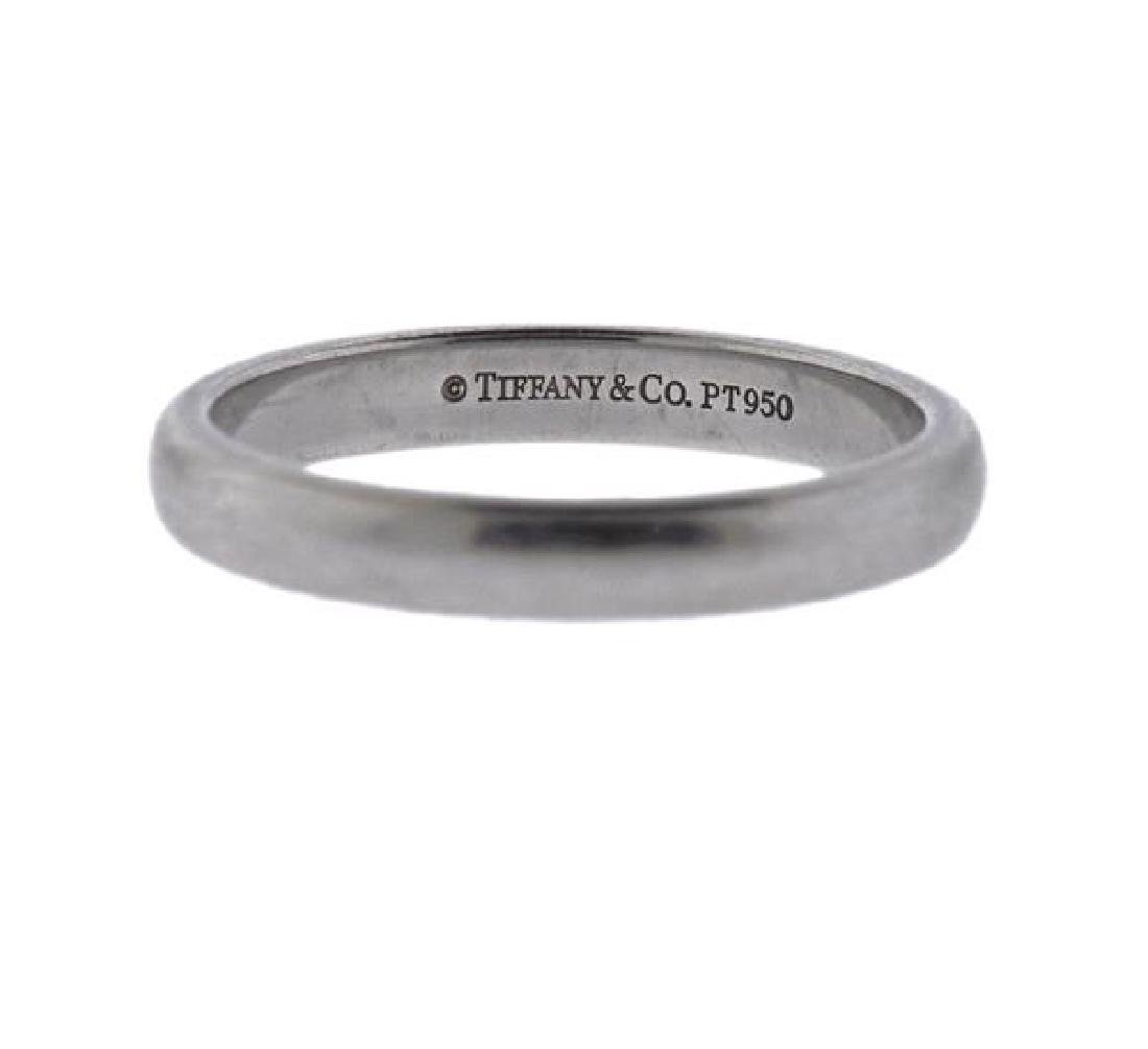 Tiffany & Co Platinum 2.9mm Wedding Band Ring