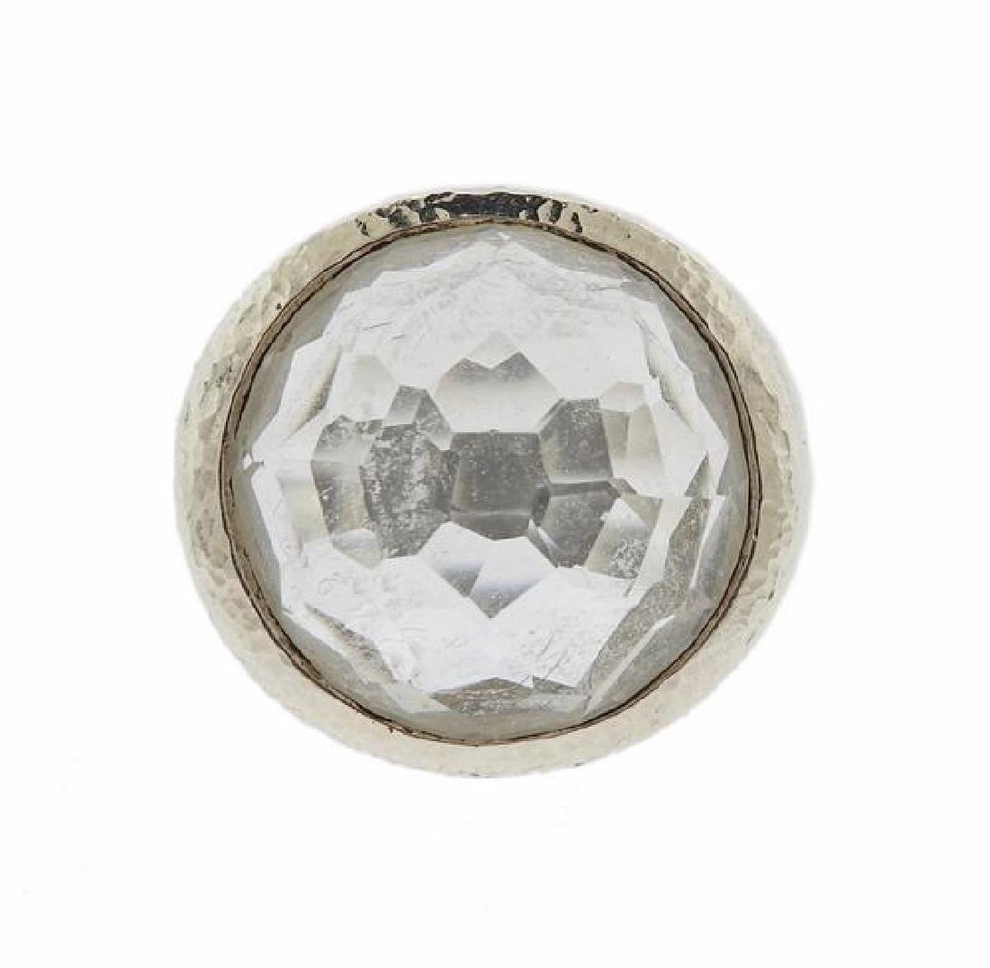 Ippolita Sterling Silver Crystal Ring