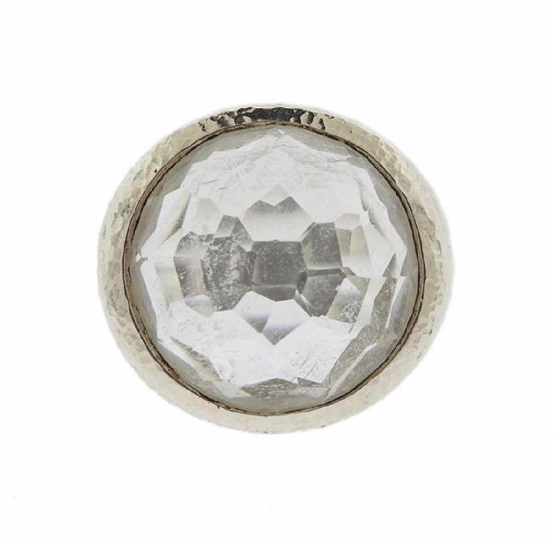 Ippolita Sterling Silver Crystal Ring